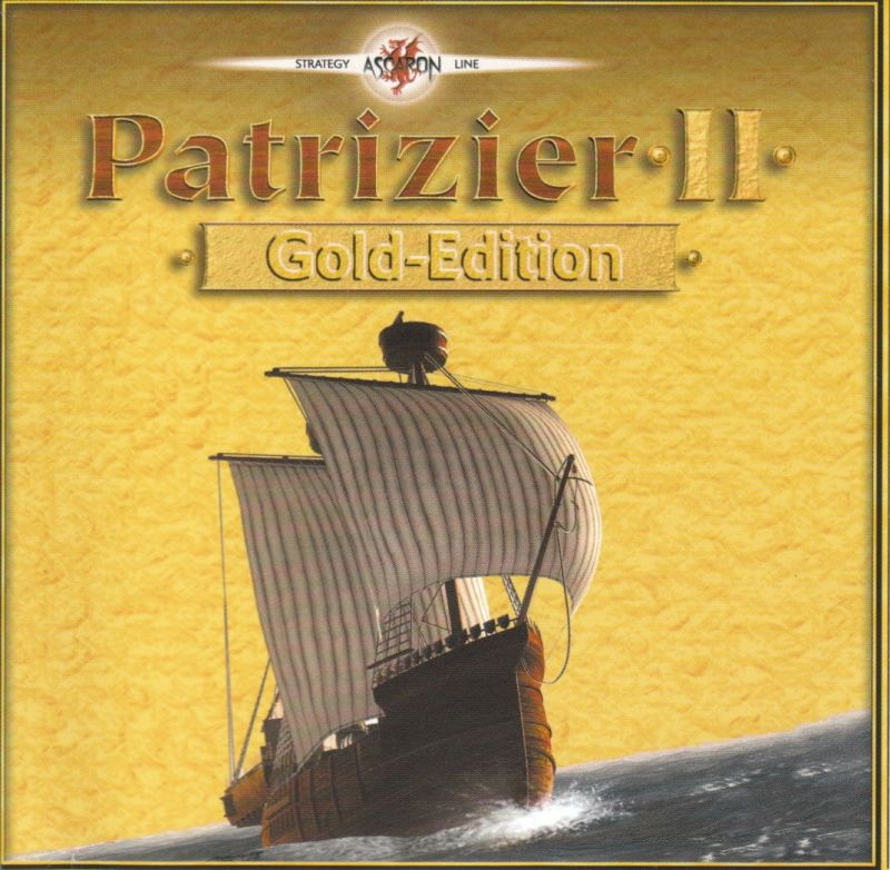 Patrizier II (Gold Edition) Windows Other Jewel Case - Front