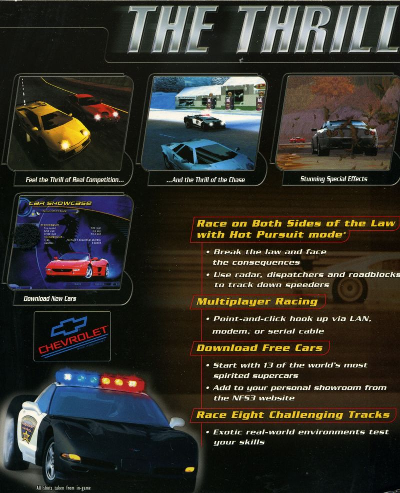 need for speed 3 hot pursuit game download