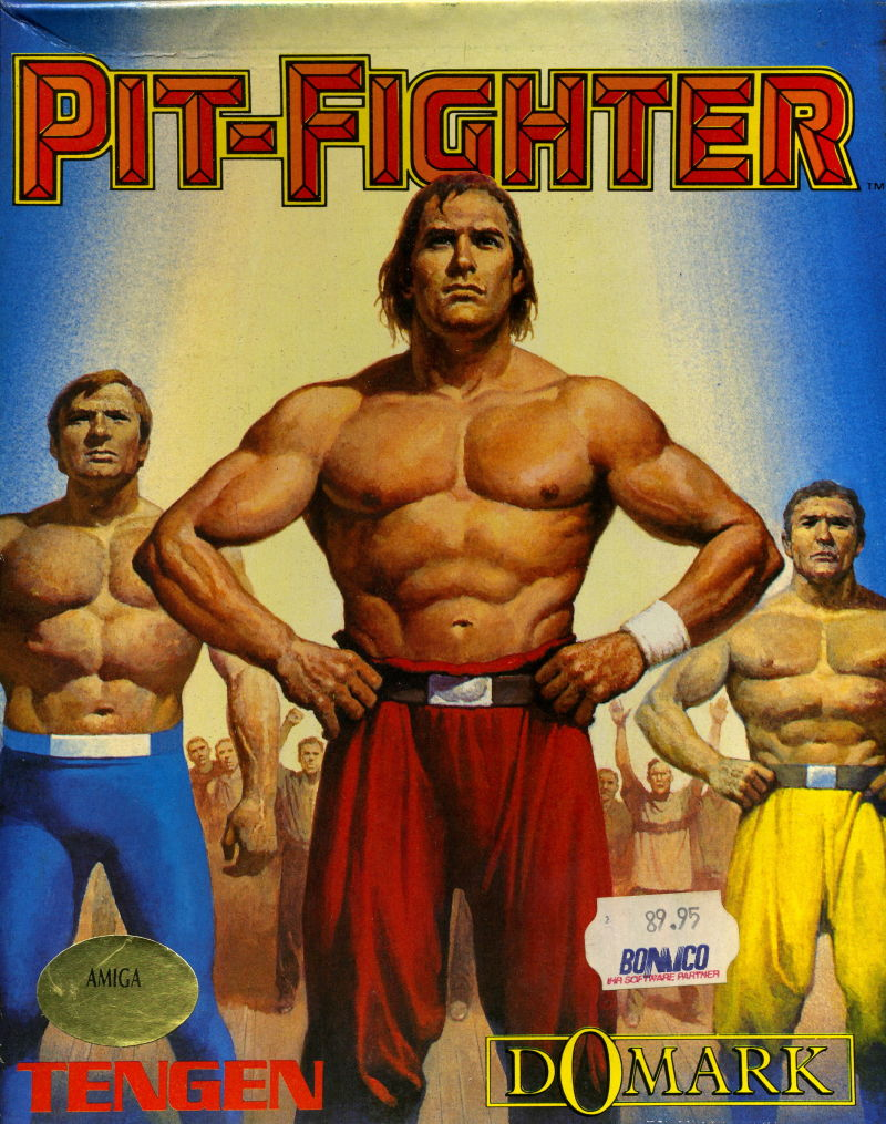 Pit-Fighter Amiga Front Cover