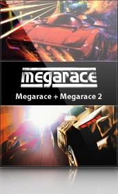 Megarace: Megarace + Megarace 2 Windows Front Cover