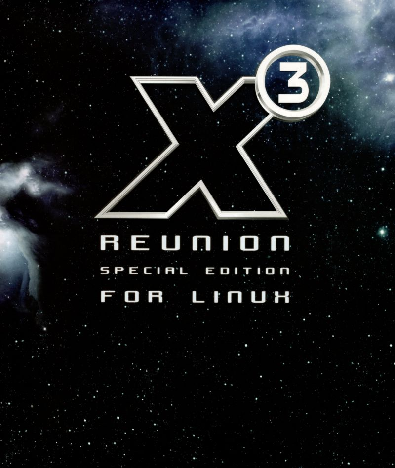 X³: Reunion (Special Edition) Linux Front Cover