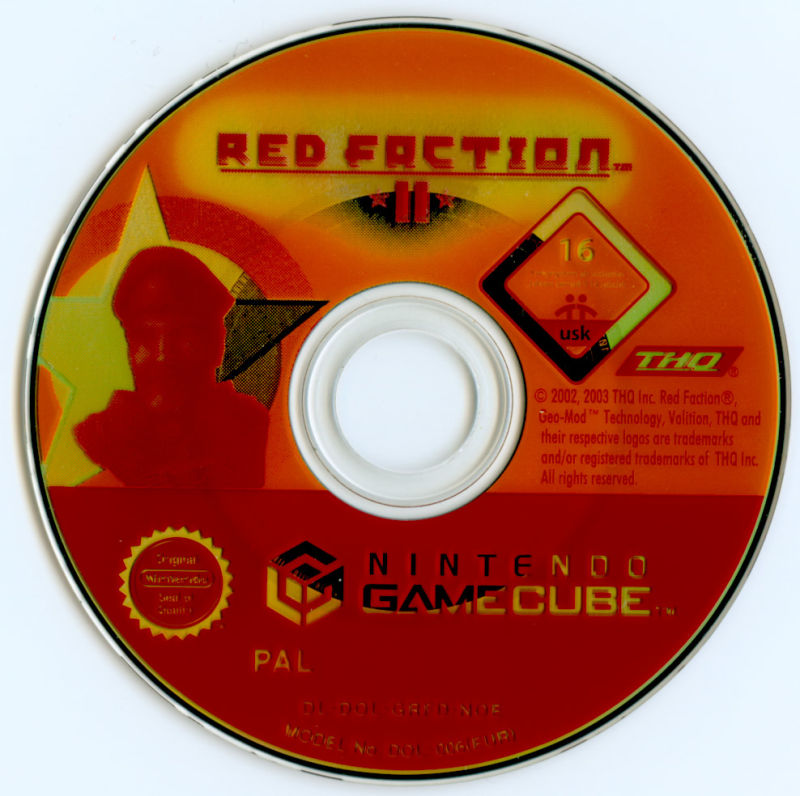 Red Faction II GameCube Media