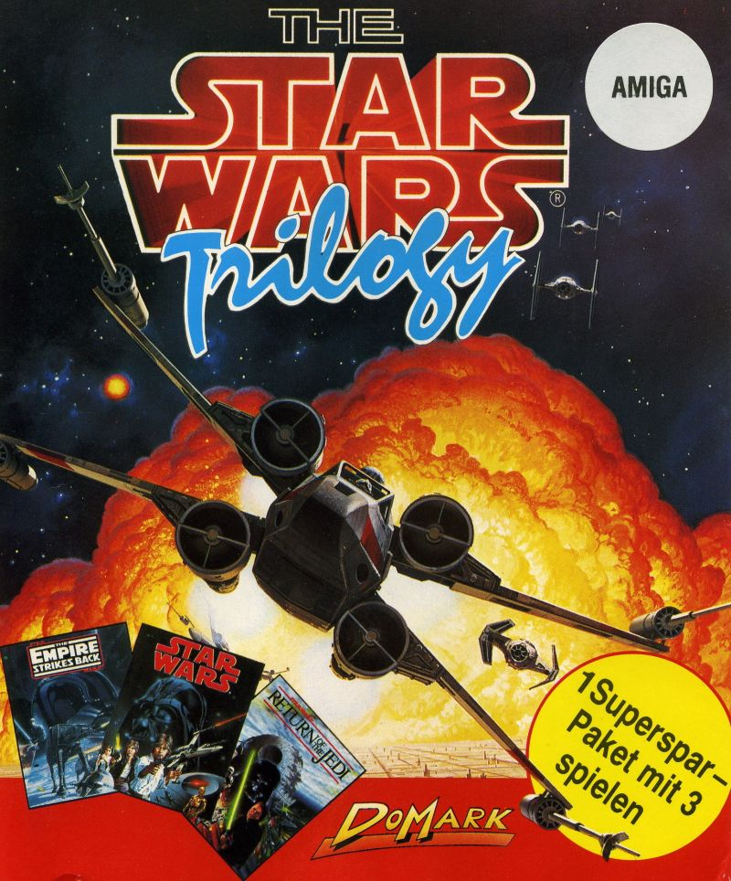 The Star Wars Trilogy Amiga Front Cover