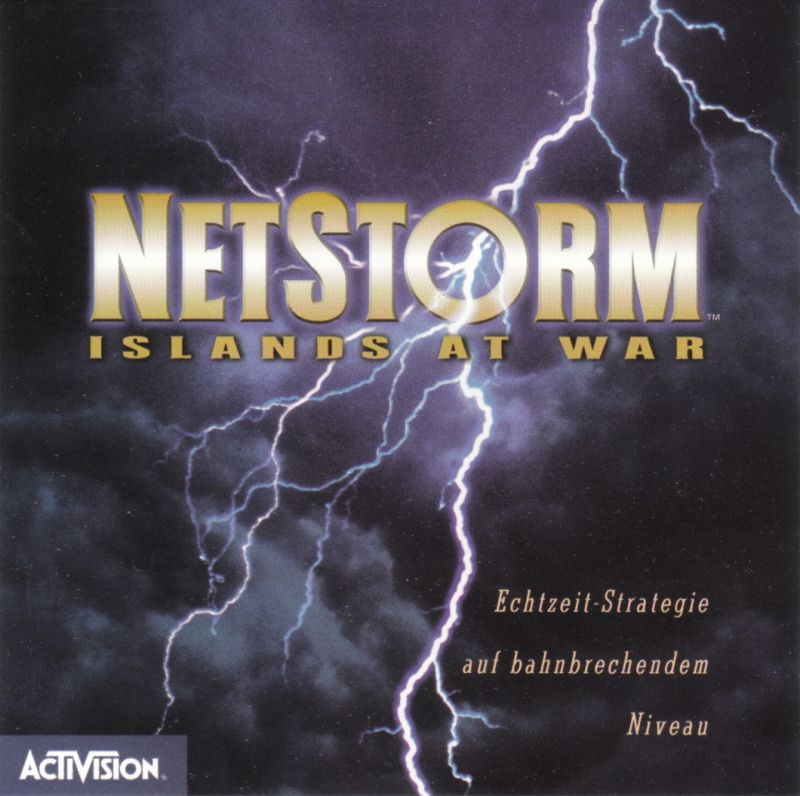 NetStorm: Islands at War Windows Other Jewel Case - Front
