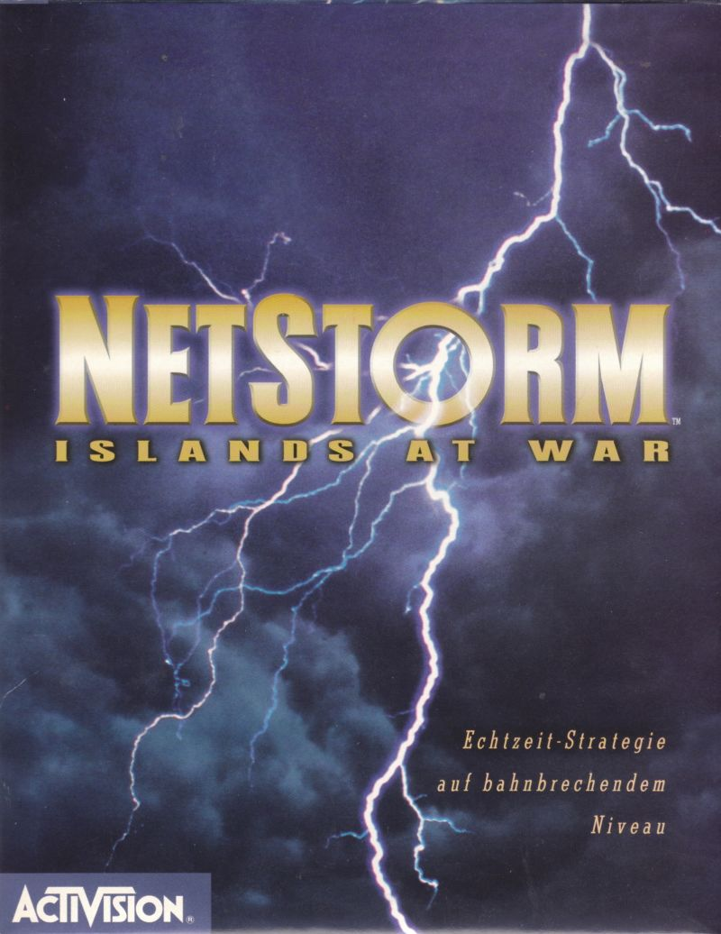 NetStorm: Islands at War Windows Front Cover