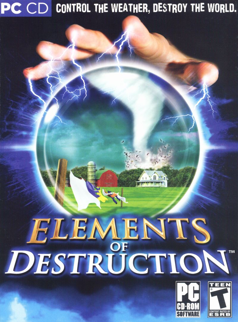 Elements of Destruction Windows Front Cover
