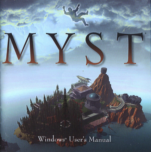 Myst Windows Other Jewel Case - Front
