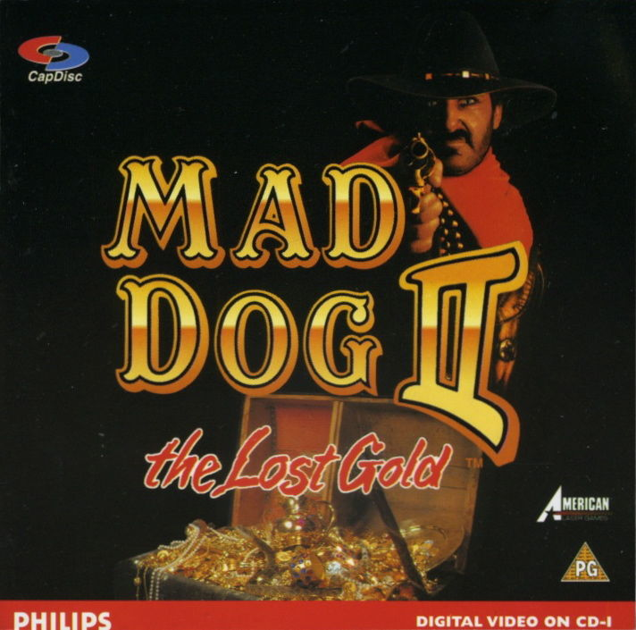 Mad Dog II: The Lost Gold CD-i Front Cover