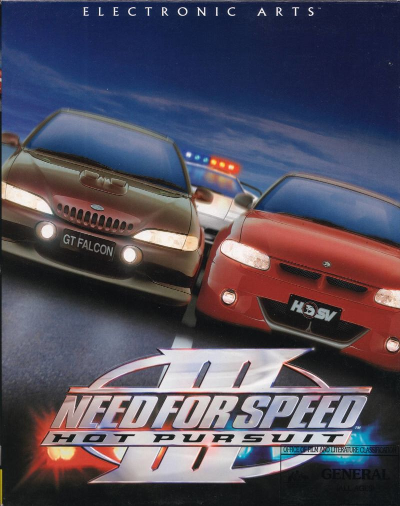 Need For Speed Iii Hot Pursuit 1998 Windows Box Cover Art