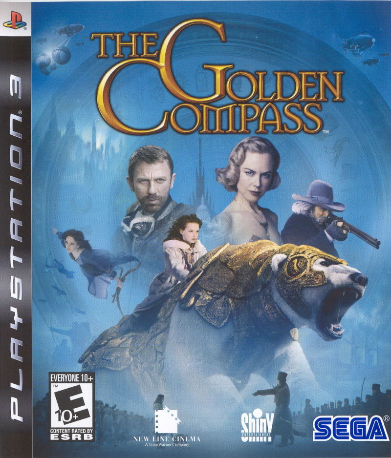 The Golden Compass PlayStation 3 Front Cover