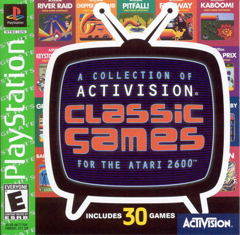 A Collection of Activision Classic Games for the Atari ...