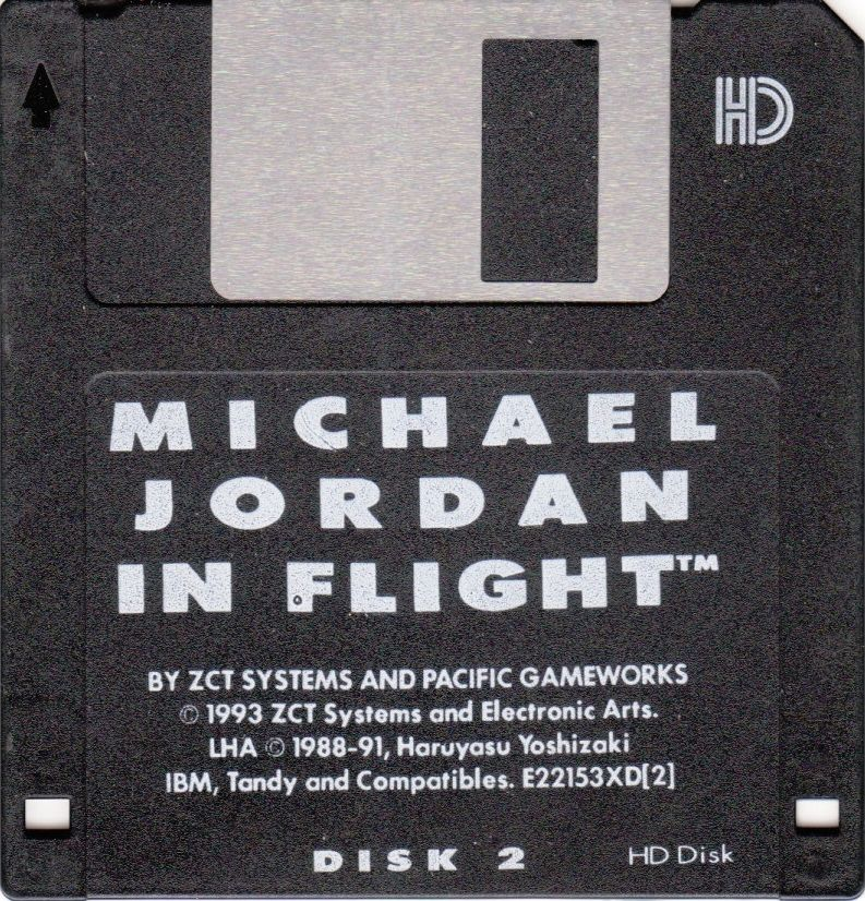 Michael Jordan in Flight DOS Media Disk 2/2