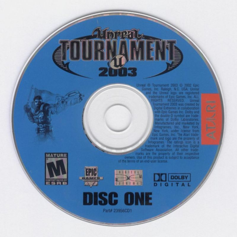Unreal Tournament 2003 Windows Media Disc 1