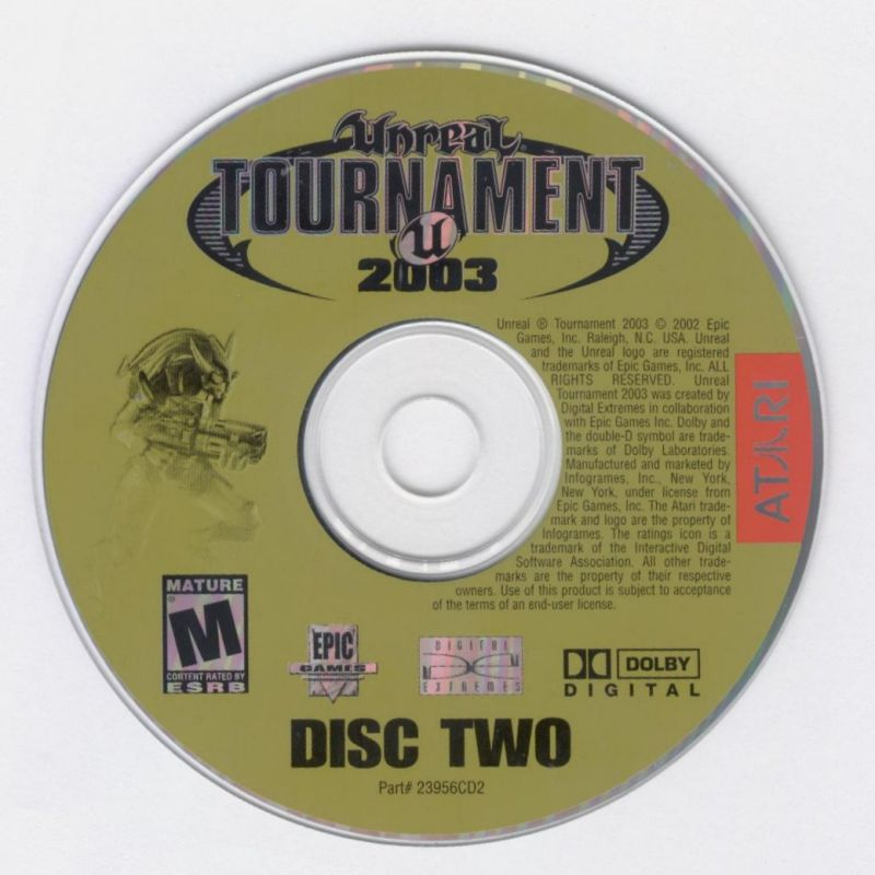 Unreal Tournament 2003 Windows Media Disc 2