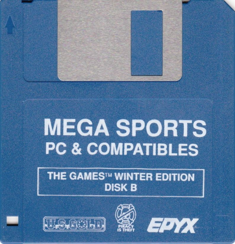 Mega Sports DOS Media The Games - Summer Edition - Disk 2/2