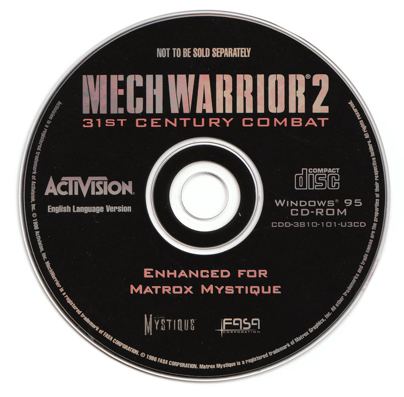 MechWarrior 2: 31st Century Combat Windows Media