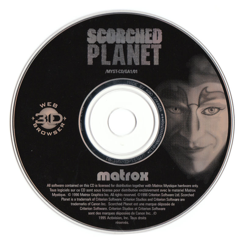 Scorched Planet Windows Media