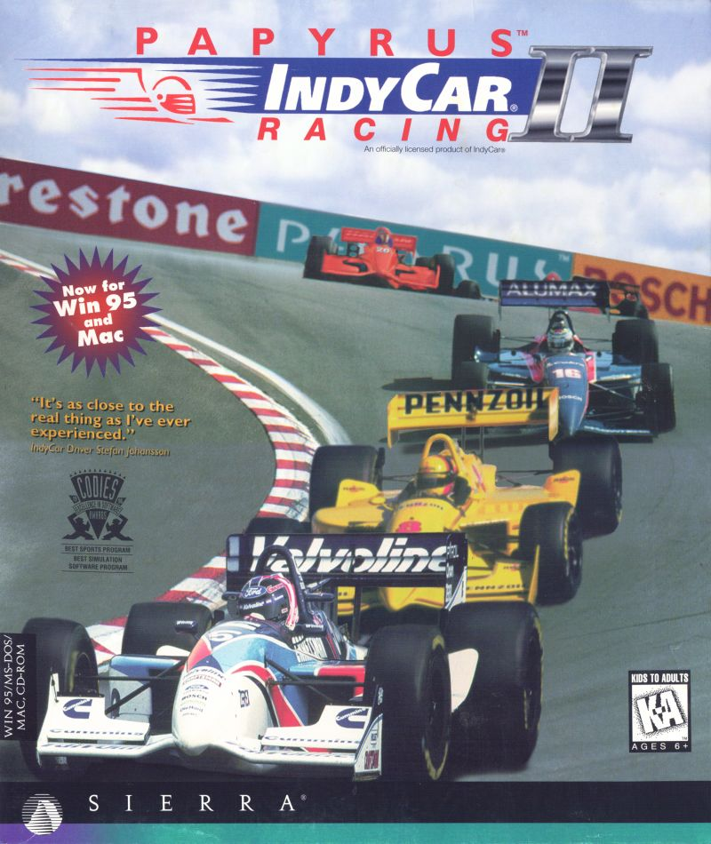 IndyCar Racing II for DOS 1996  MobyGames