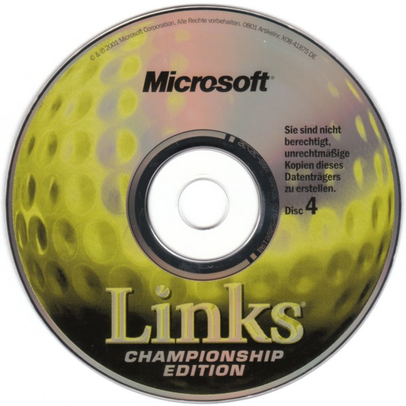 Links Championship Edition Windows Media Disc 4/4