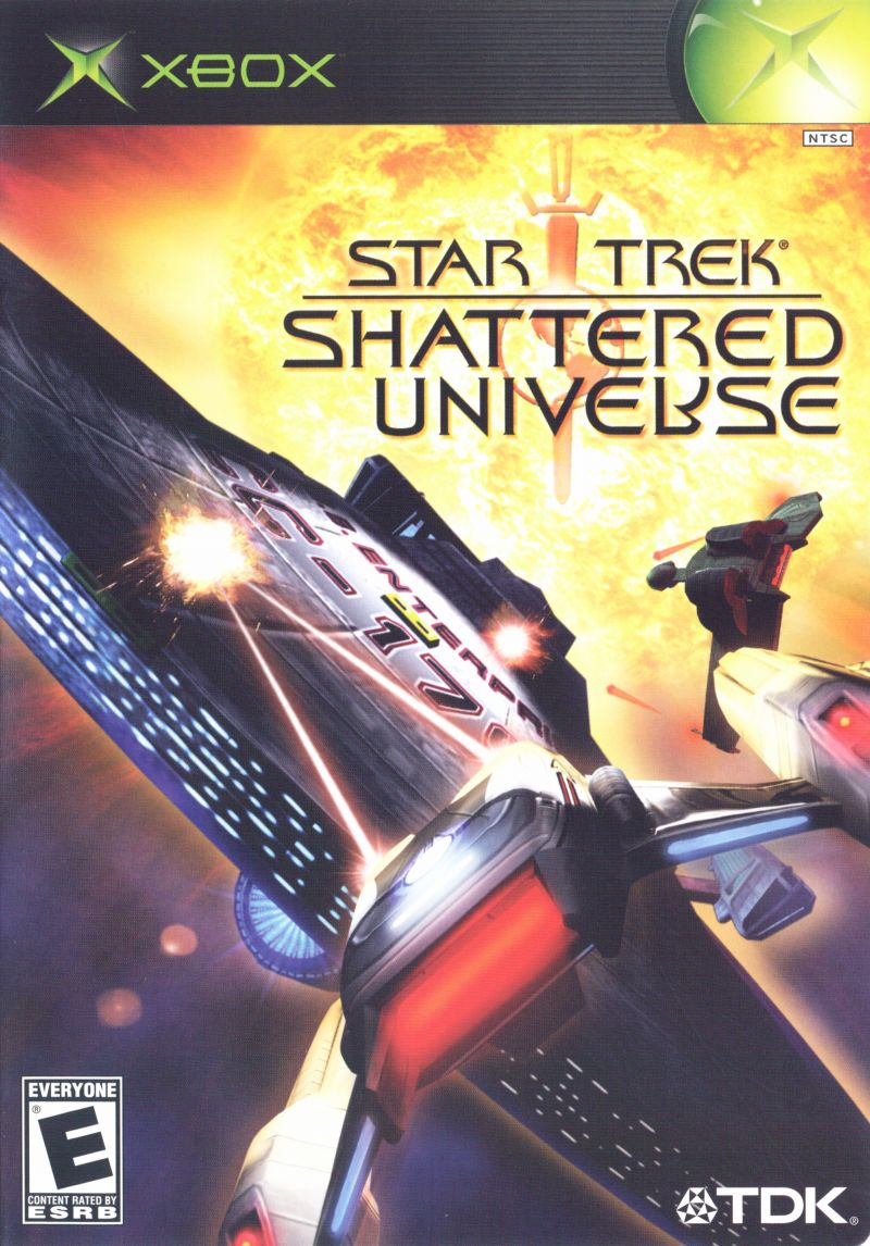 Star Trek: Shattered Universe Xbox Front Cover