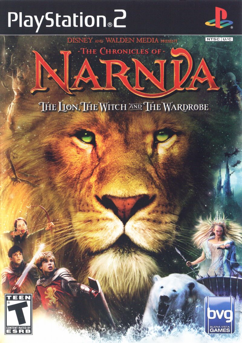 The Chronicles of Narnia: The Lion, the Witch and the Wardrobe PlayStation 2 Front Cover