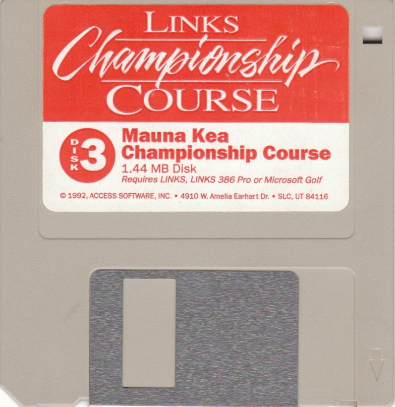Links: Championship Course - Mauna Kea DOS Media Disk 3