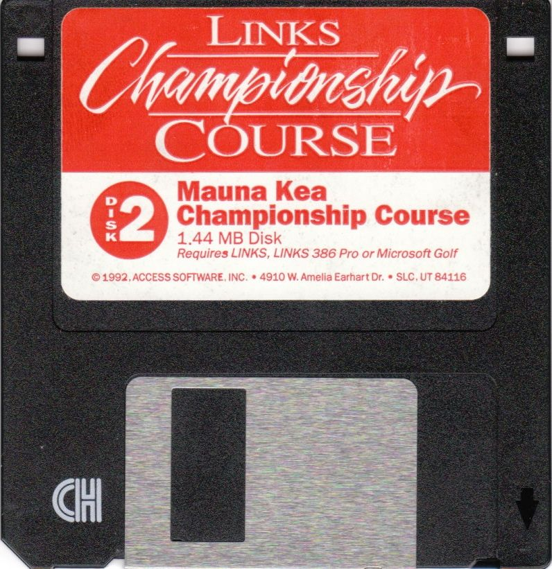 Links: Championship Course - Mauna Kea DOS Media Disk 2/2