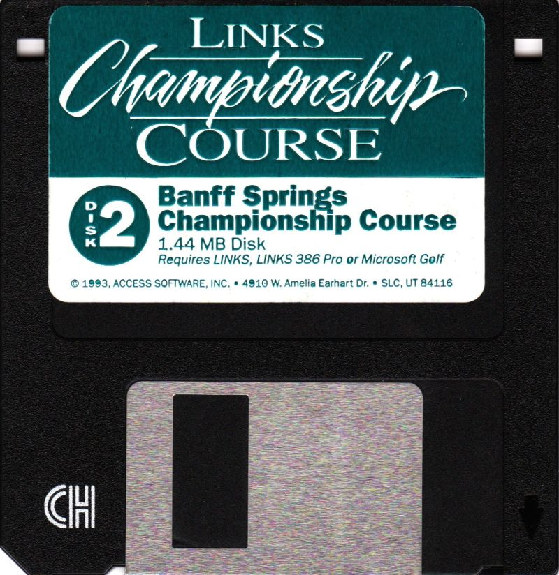 Links: Championship Course - Banff Springs DOS Media Disk 2 of 3