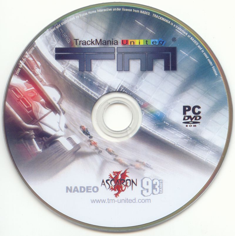 TrackMania United Windows Media