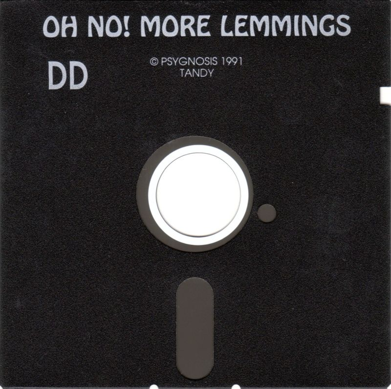 "Oh No! More Lemmings DOS Media 5.25"" Disk - Tandy"