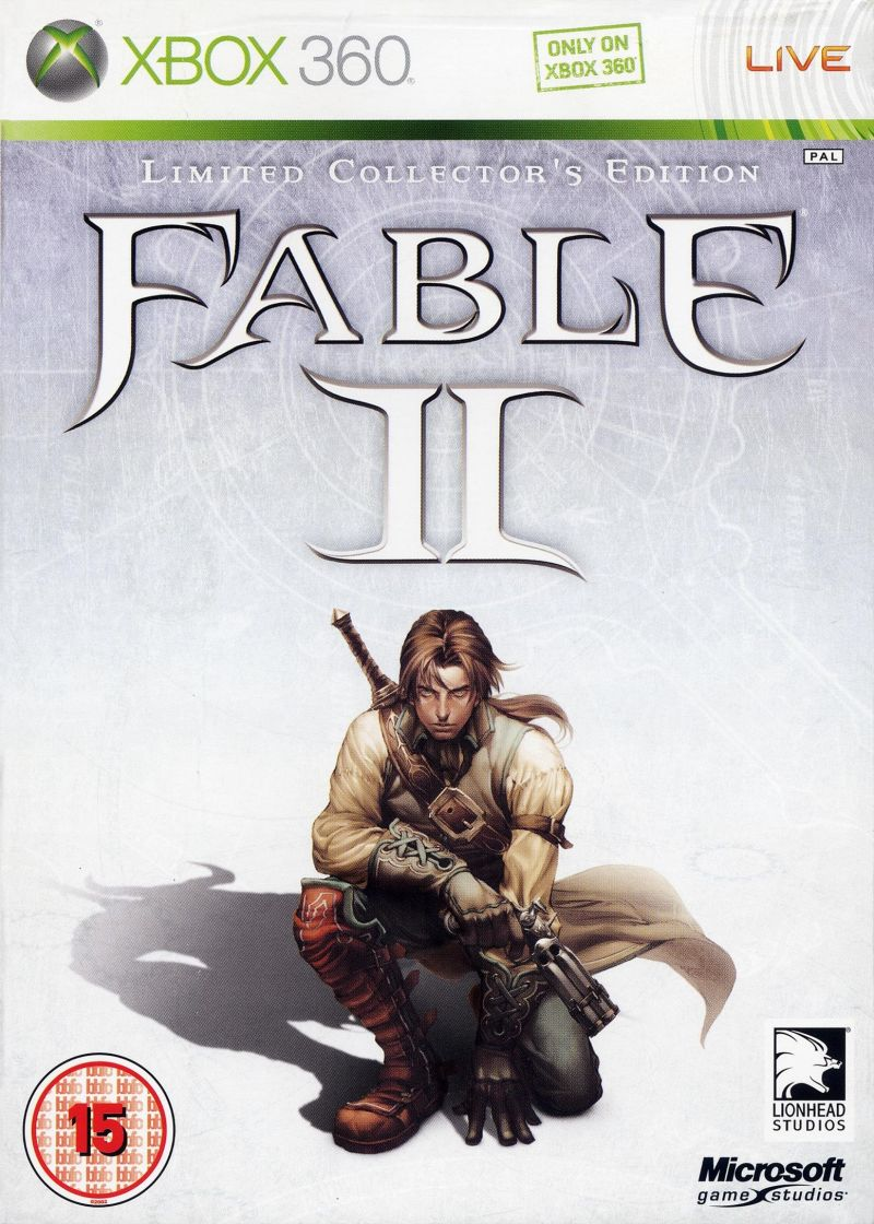 Fable II (Limited Collector's Edition) Xbox 360 Front Cover