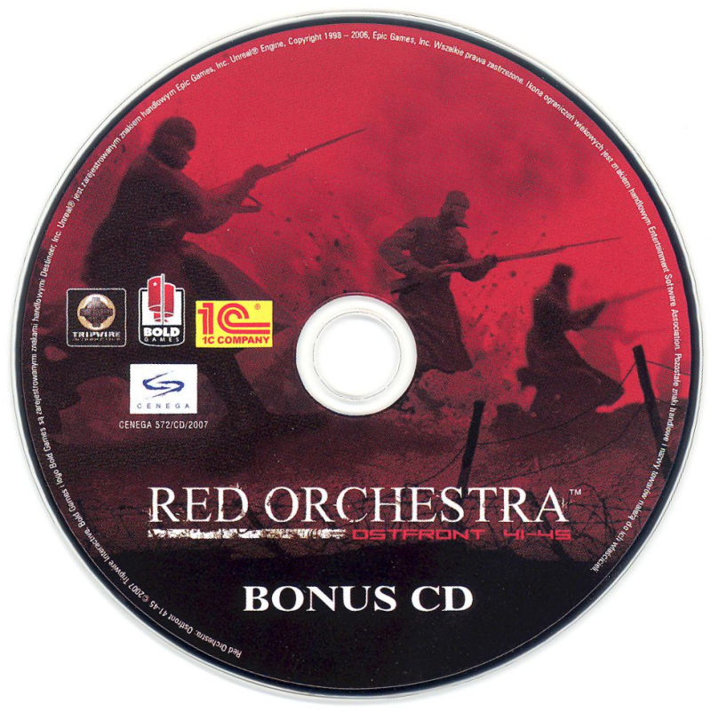 Red Orchestra: Ostfront 41-45 (Collector's Edition) Windows Other Bonus CD