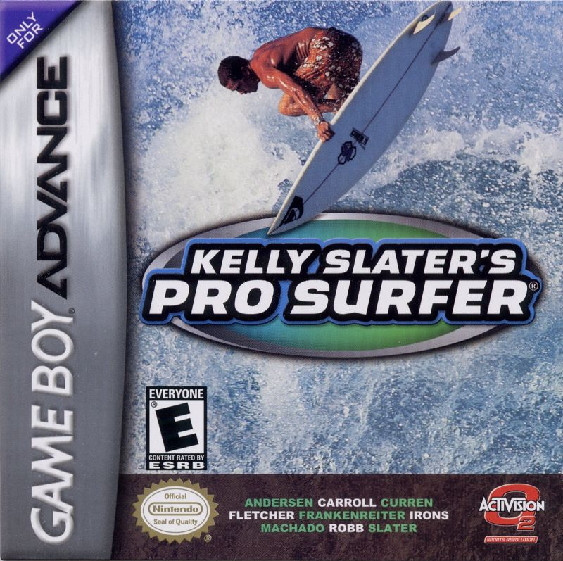 Kelly Slater's Pro Surfer Game Boy Advance Front Cover