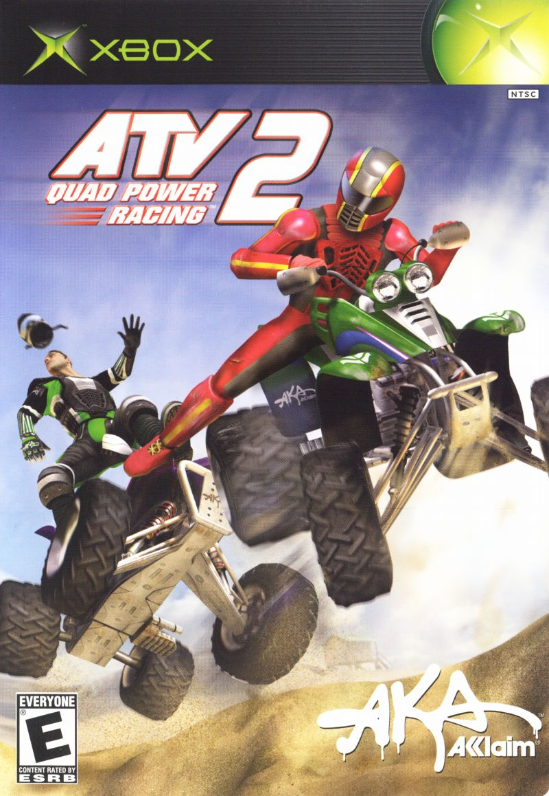 ATV: Quad Power Racing 2 Xbox Front Cover