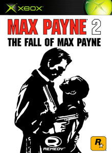 Max Payne 2: The Fall of Max Payne Xbox 360 Front Cover