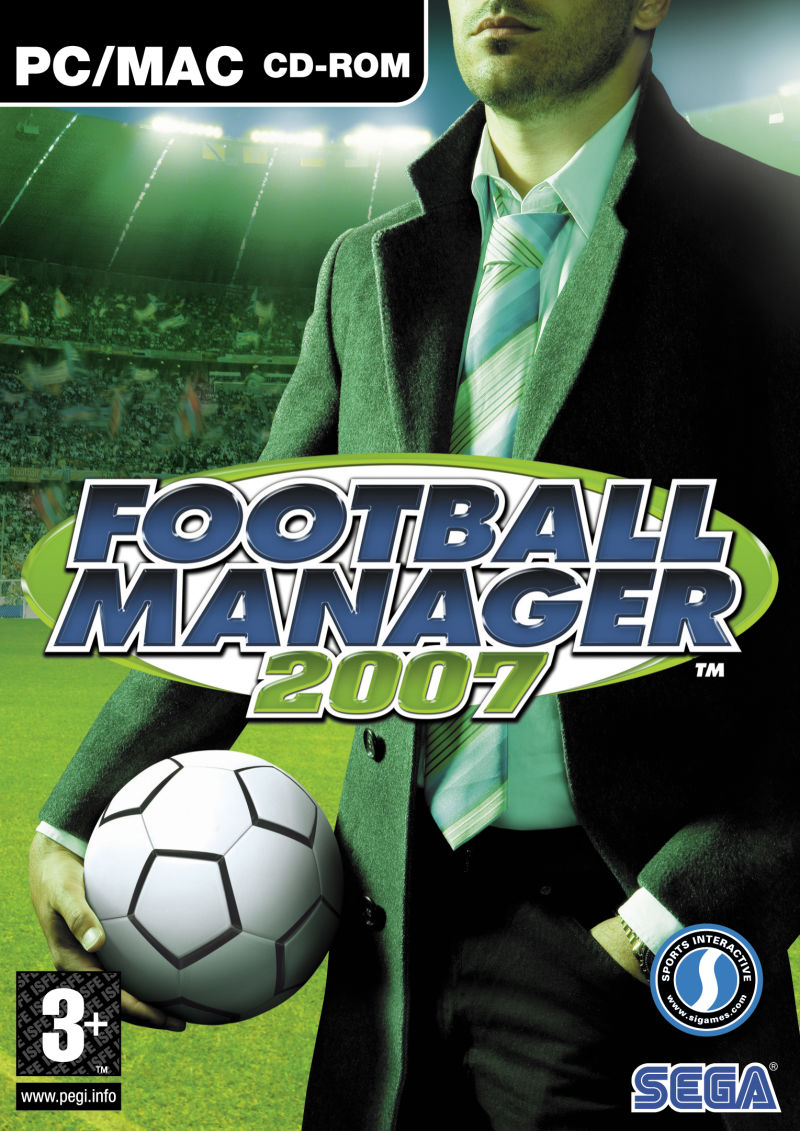 Worldwide Soccer Manager 2007 Macintosh Front Cover