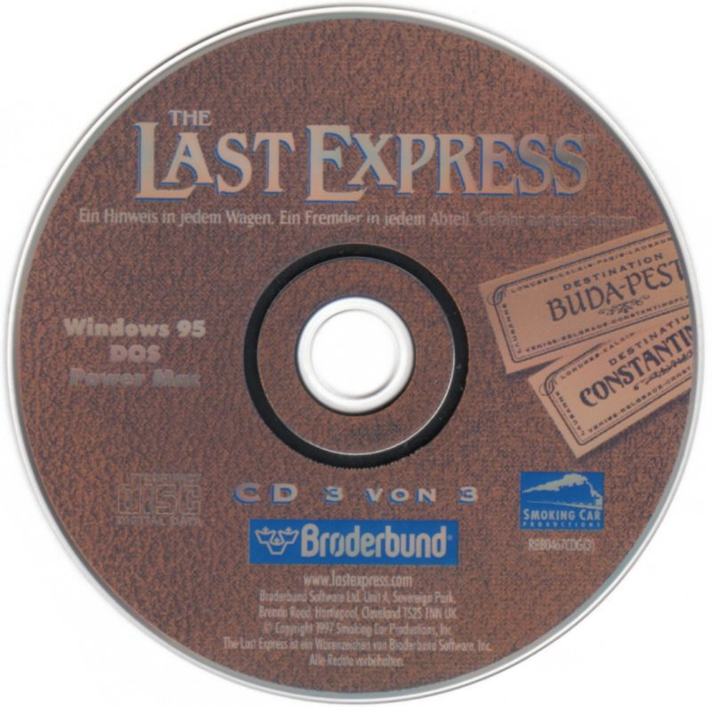 The Last Express DOS Media Disc 3