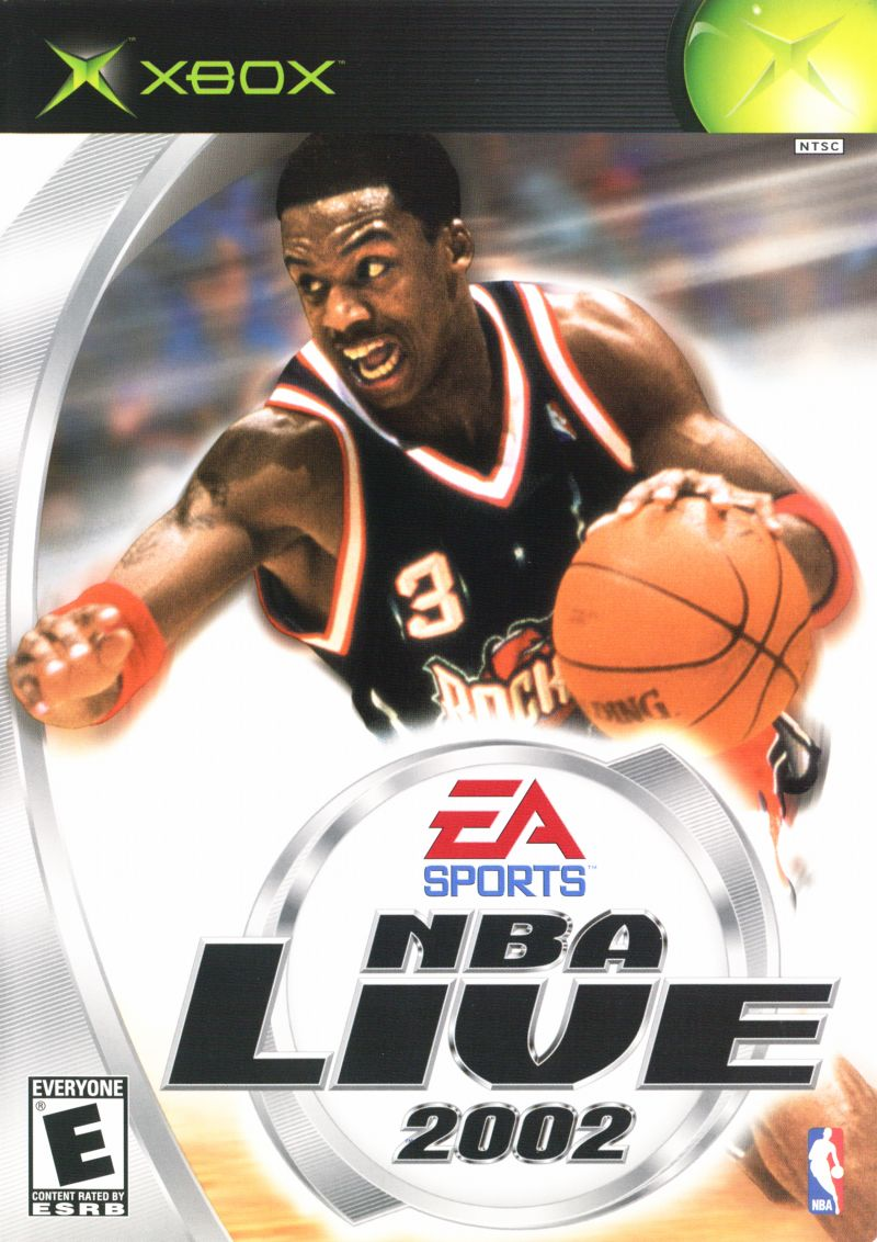 NBA Live 2002 Xbox Front Cover