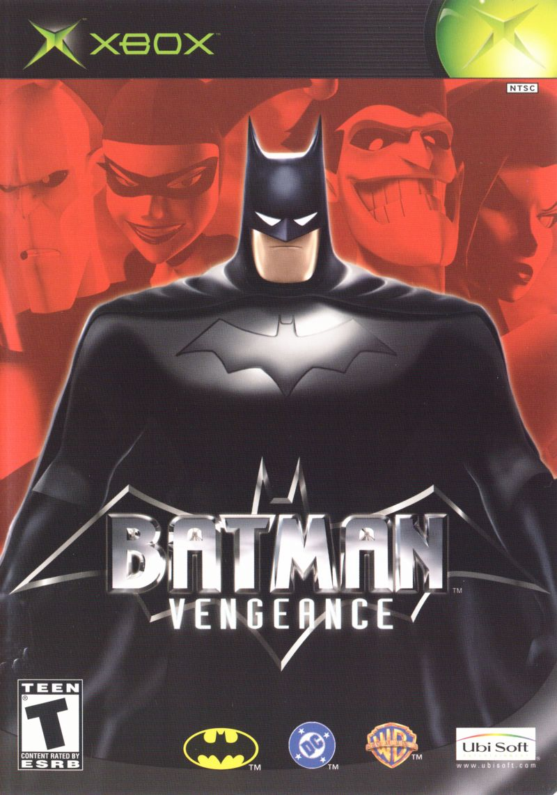 Batman: Vengeance Xbox Front Cover