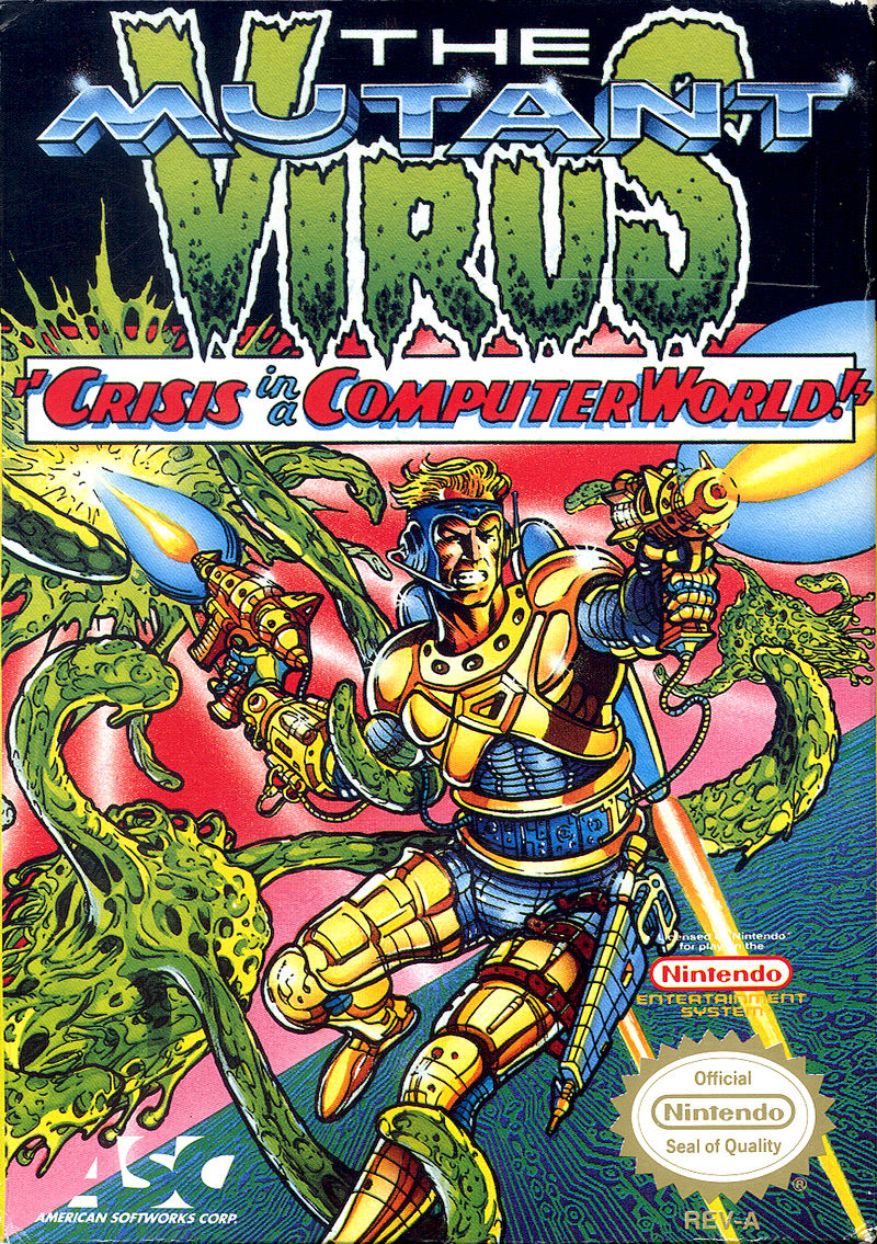 The Mutant Virus NES Front Cover