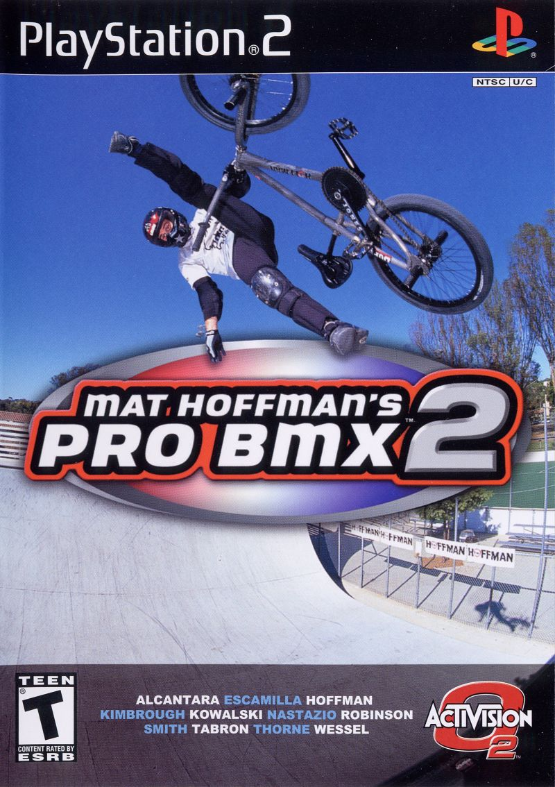 Mat Hoffman's Pro BMX 2 PlayStation 2 Front Cover