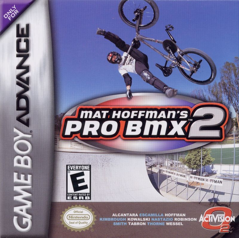 Mat Hoffman's Pro BMX 2 Game Boy Advance Front Cover