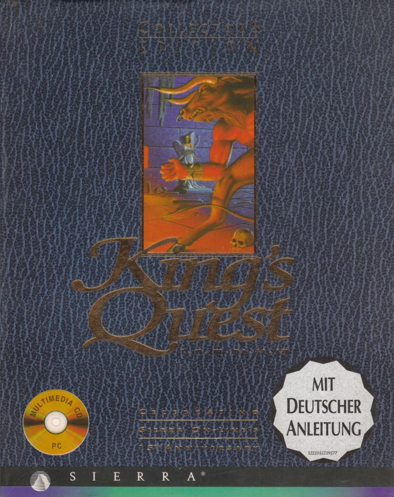 King's Quest: Collector's Edition DOS Front Cover