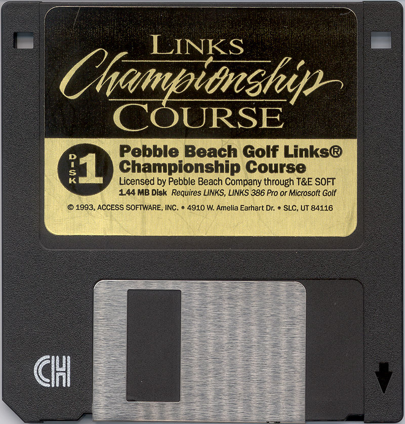 Links: Championship Course - Pebble Beach DOS Media
