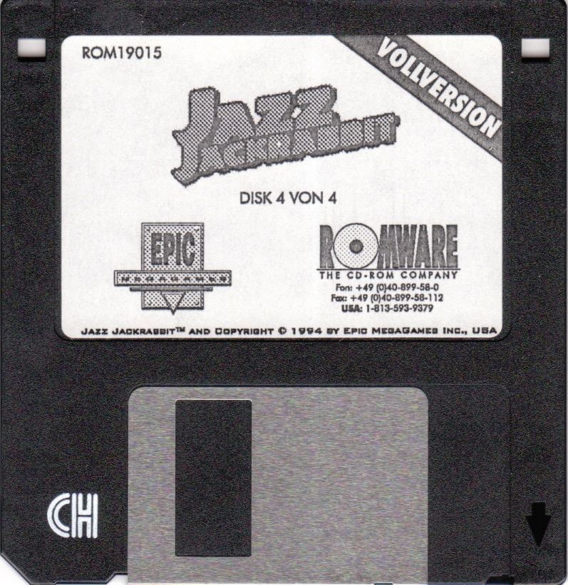 Jazz Jackrabbit DOS Media Disk 4/4
