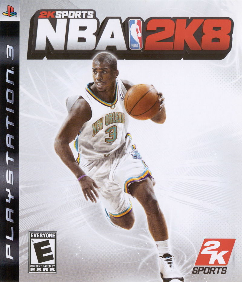 NBA 2K8 PlayStation 3 Front Cover