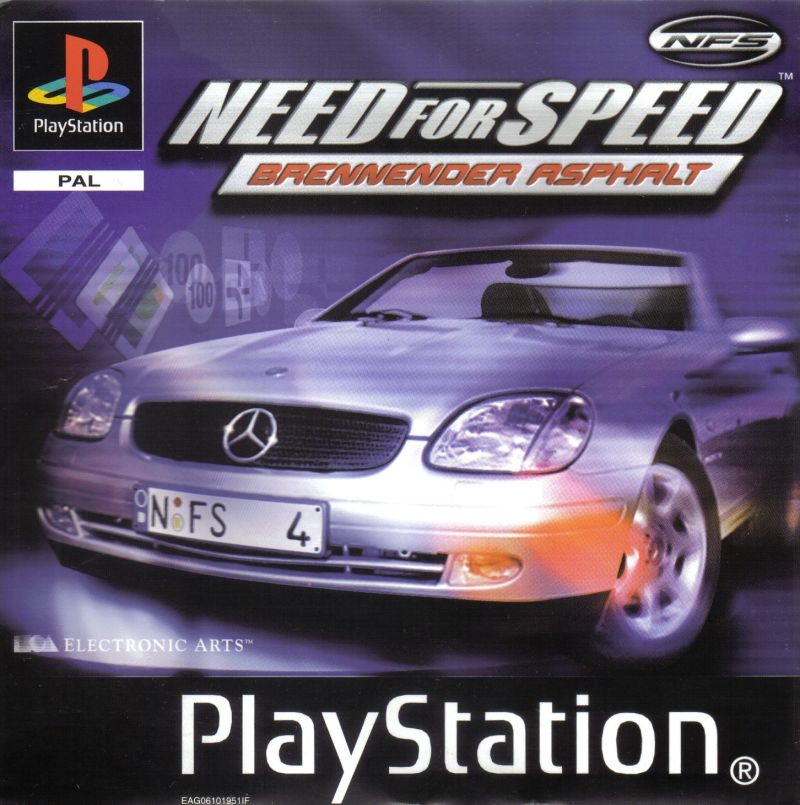 Need For Speed High Stakes PlayStation Front Cover