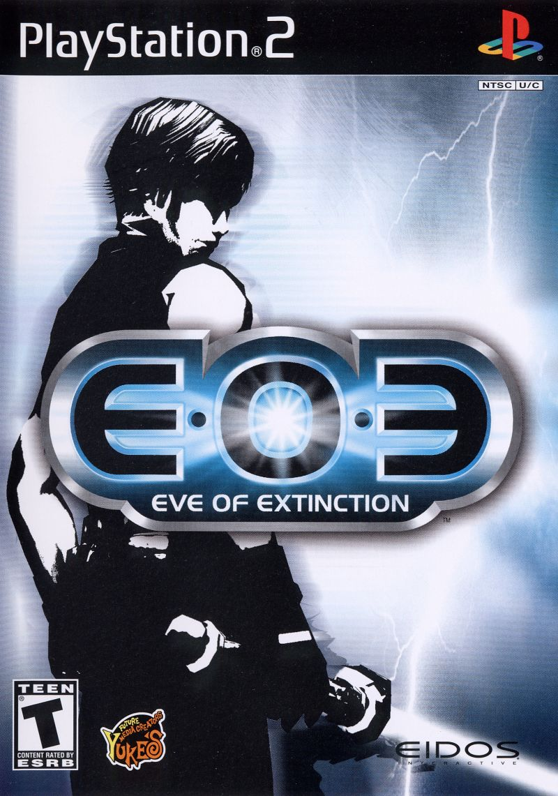 EOE: Eve of Extinction PlayStation 2 Front Cover