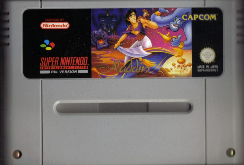 Disney's Aladdin SNES Media