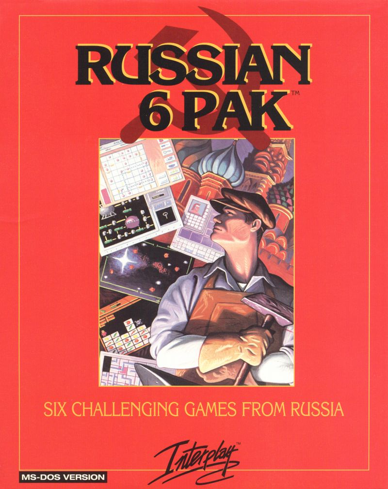 Russian 6 Pak DOS Front Cover